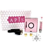 Apis Vaporizer Kit Pink on display